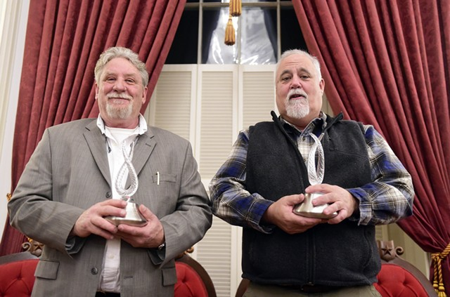 Jerry Williams, left, and Chris Miller - JEB WALLACE-BRODEUR