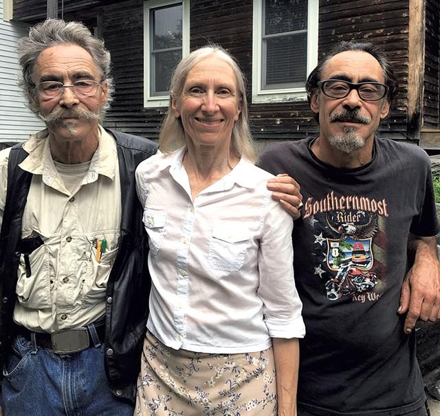 From left: Jimmy De Pierro, Kathy Daye and Mark De Pierro - DAN BOLLES