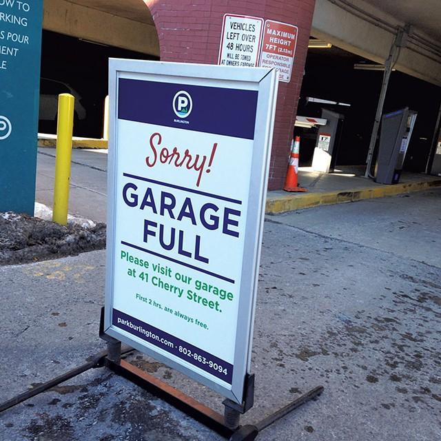 Marketplace Garage in Burlington - MOLLY WALSH