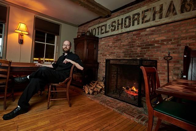 Shoreham Inn and Pub co-owner, Andrew Done - BEAR CIERI