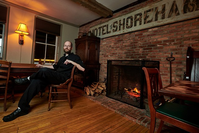 Shoreham Inn and Pub co-owner, Andrew Done - BEAR CIERI