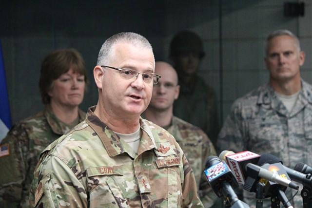 Maj. Gen. Steven Cray - PAUL HEINTZ