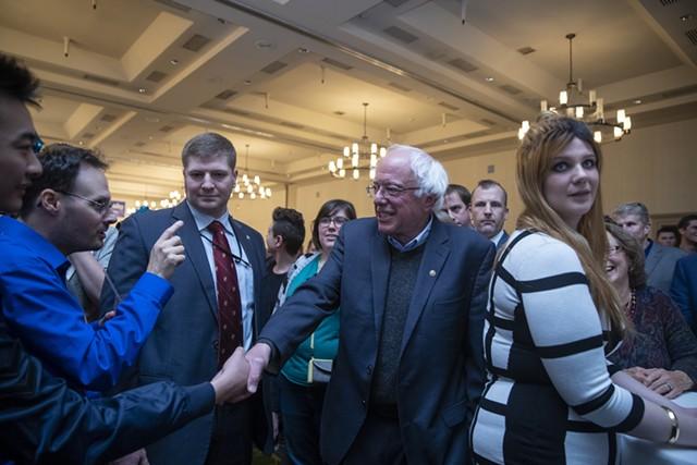 Sen. Bernie Sanders - JAMES BUCK