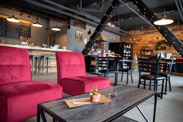 Seating area at Eden Specialty Ciders Boutique Taproom & Cheese Bar - JAMES BUCK