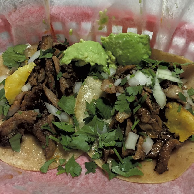 Tacos at Taco Gordo - COURTESY OF TACO GORDO