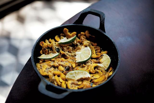 Ella's Garden (cashew curry) - COURTESY OF NAMA   MICHAEL VESIA