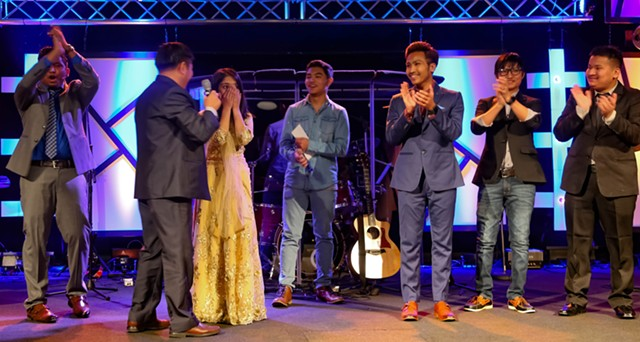 Shrishty Chhetri wins the Voice of Glory - COURTESY OF AARON'S PHOTOGRAPHY