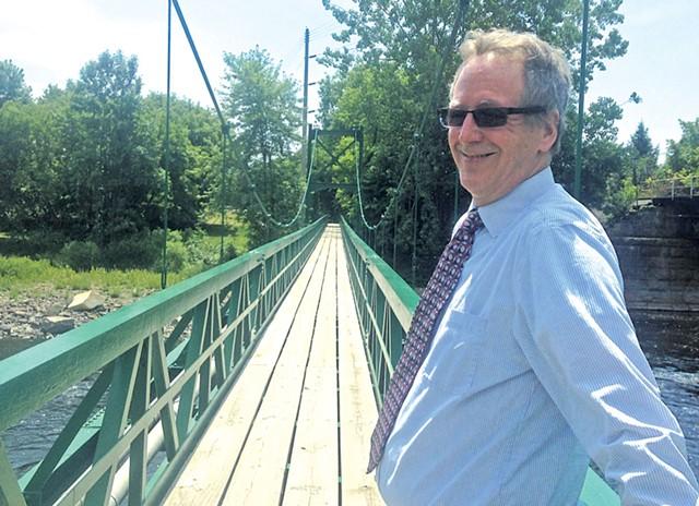 Plattsburgh Mayor Colin Read - FILE: MOLLY WALSH