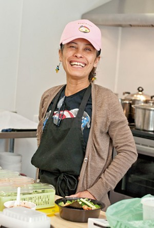 Marlyn Brown of Si Aku Ramen - FILE: HANNAH PALMER EGAN