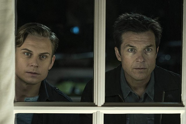 Billy Magnussen and Jason Bateman in Game Night