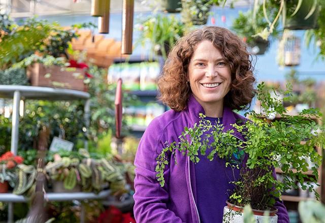 Gardener's Supply Williston store manager Becca Lindenmeyr - JAMES BUCK
