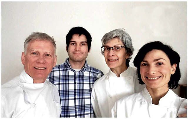NU Chocolat owners, from left: Kevin, Rowan, Laura and Virginia Toohey - COURTESY OF NU CHOCOLAT
