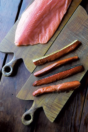 Fresh and smoked salmon from Honeywilya Fish - JEB WALLACE-BRODEUR
