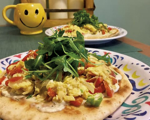 Breakfast pita at the Hippie Chickpea - COURTESY OF HIPPIE CHICKPEA