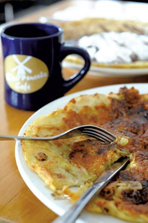The Dutch Pancake in Stowe. - JEB WALLACE-BRODEUR