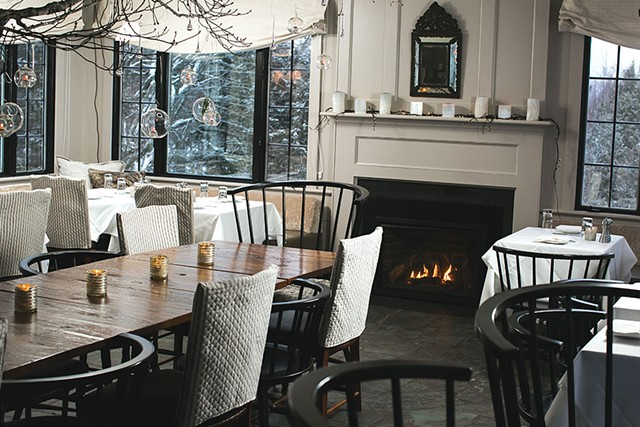 The Restaurant at Edson Hill in Stowe - BRENT HARREWYN