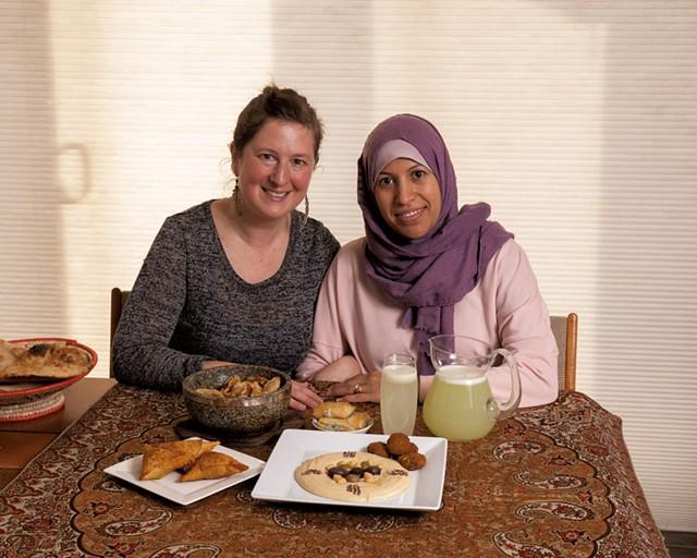 Val Elliott and Hend Al-Raimi - DON WHIPPLE