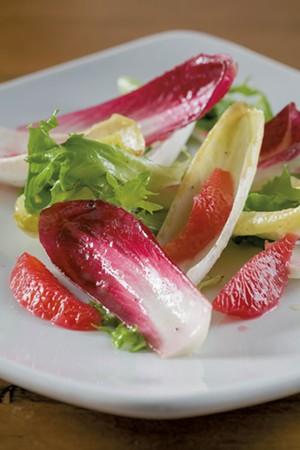 Endive-and-orange salad - OLIVER PARINI