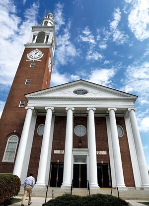 Ira Allen Chapel in 2014 - FILE: ASHLEY CONTI