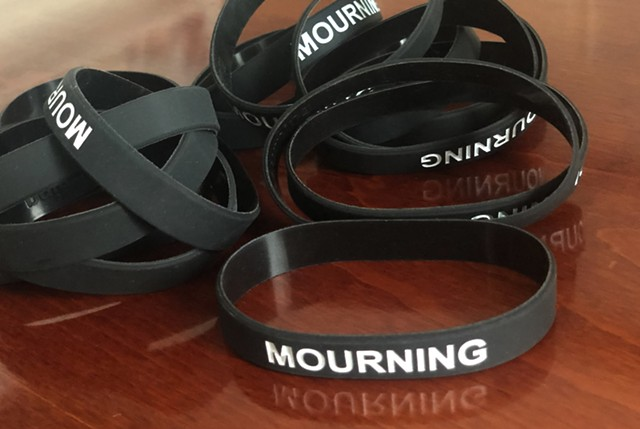 Mourning bracelets - COURTESY OF ANNE-MARIE KEPPEL