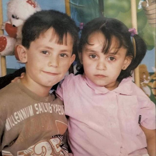 Ayman and Ghena Alsalloumi - COURTESY OF GHENA ALSALLOUMI