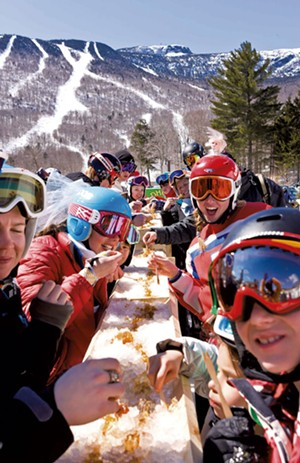 Stowe Sugar Slalom - PHOTO COURTESY OF MT. MANSFIELD SKI CLUB