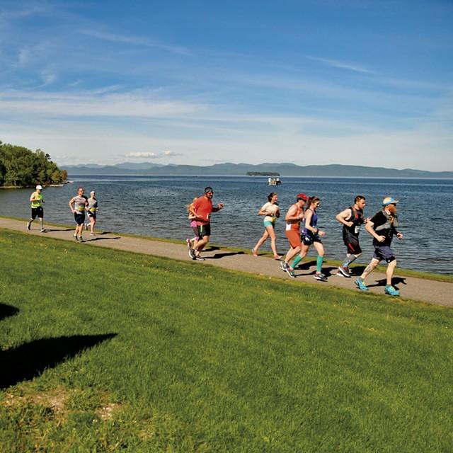 Vermont City Marathon & Relay - COURTESY OF VERMONT CITY MARATHON