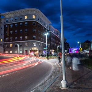 The loop in downtown Winooski - COURTESY OF BRITT SHORTER