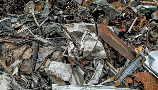 Photo from Junk Series by Don Ross - COURTESY OF ALLEY GALLERY