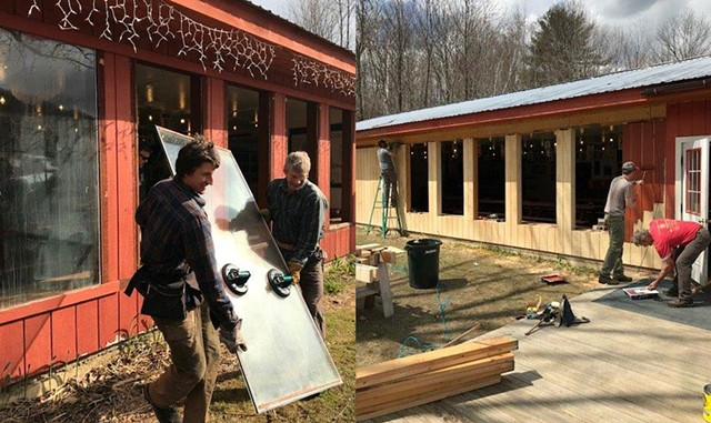 The renovation process, parts 1 & 2
