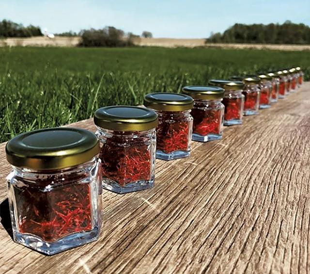 Jars of Saffron - COURTESY OF RED THREAD FARMSTEAD