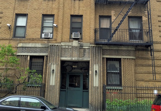 Bernie's old Midwood residence - KEVIN KELLEY