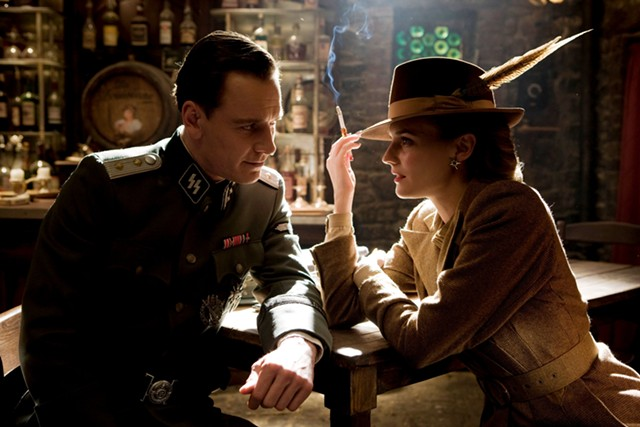 Michael Fassbender and Diane Kruger in Inglourious Basterds - THE WEINSTEIN COMPANY