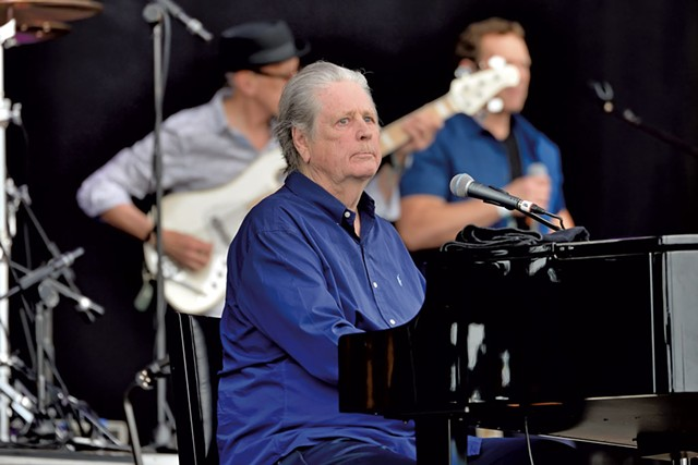 Brian Wilson - COURTESY OF CHRISTIAN BERTRAND
