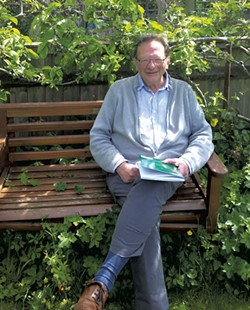 Larry Sanders at his home in England - KEVIN J. KELLEY