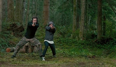 Mark Duplass and Aubrey Plaza in Safety Not Guaranteed - FILMDISTRICT