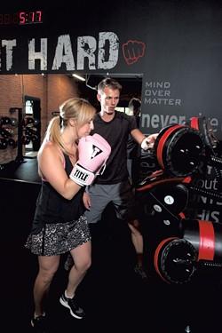 Mike Blount and Whitney Heingartner - MATTHEW THORSEN
