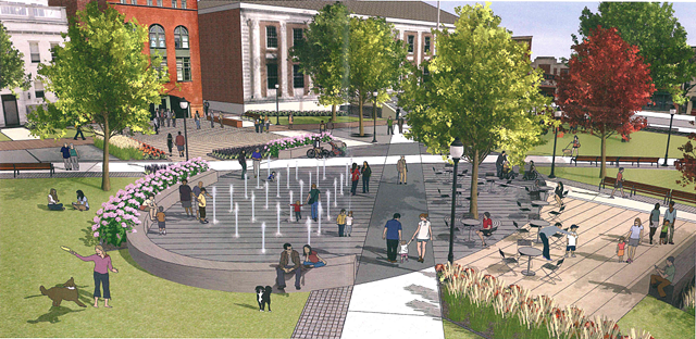 CIty Hall Park design - SUISMAN URBAN DESIGN
