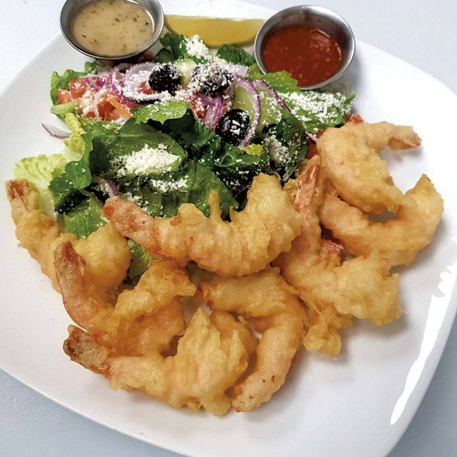 Fried shrimp from the Fish & Chip - COURTESY OF FISH & CHIP