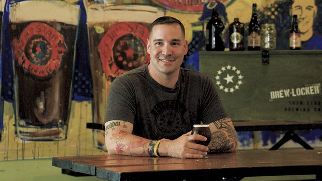 Steve Gagner of 14th Star Brewing - COURTESY OF 14TH STAR BREWING