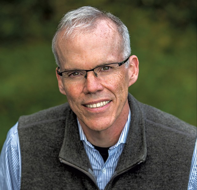 Bill McKibben - COURTESY OF NANCIE BATTAGLIA
