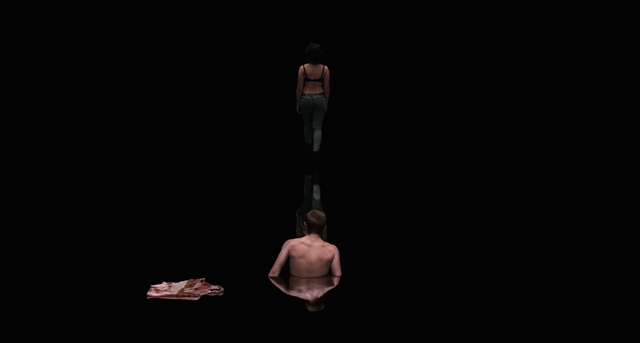 The dark room and the viscous ooze in Under the Skin - CANAL+