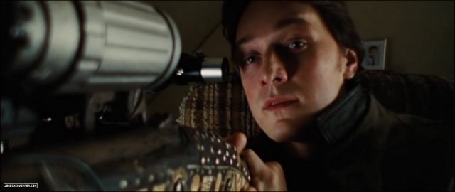 James McAvoy in Wanted - UNIVERSAL PICTURES