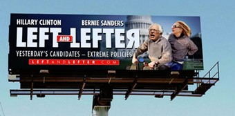 A billboard commissioned by the Wisconsin Republican Party - COURTESY: WISCONSIN REPUBLICAN PARTY