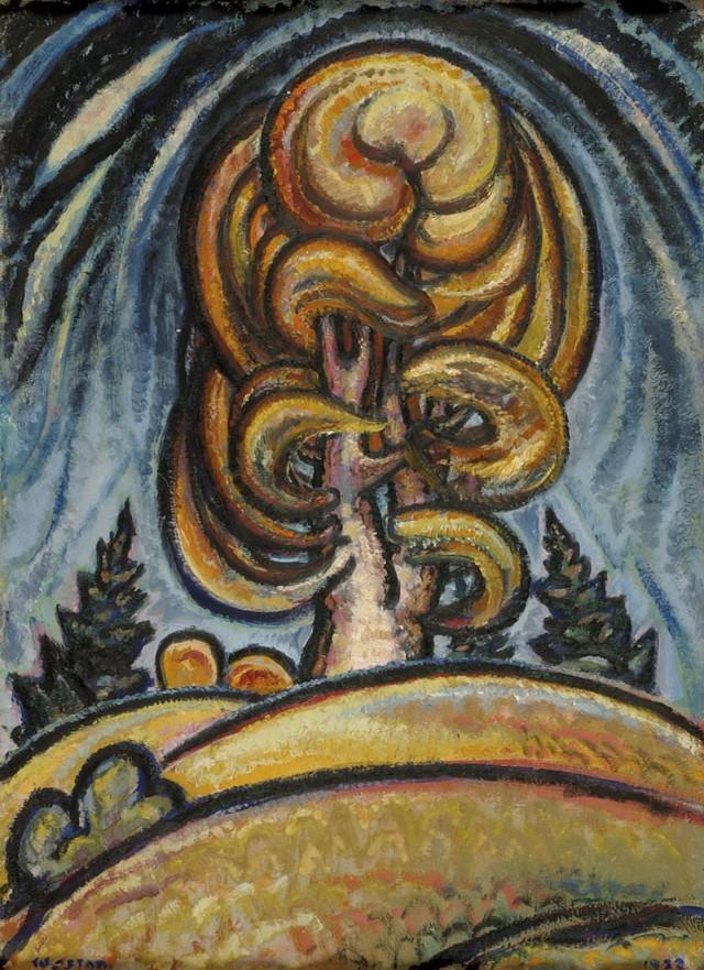 """Birch Tree"" - COURTESY OF THE HAROLD WESTON FOUNDATION"