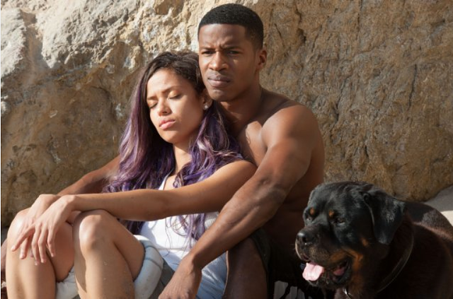 Mbatha-Raw and Parker play a pop star and a cop in love. - RELATIVITY MEDIA