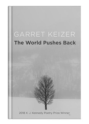 The World Pushes Back by Garret Keizer, Texas Review Press, 96 pages. $16.95.