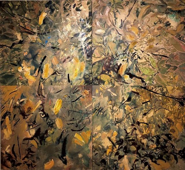 """""""Shelburne Orchards I & II"""" - COURTESY OF CAMERON DAVIS"""