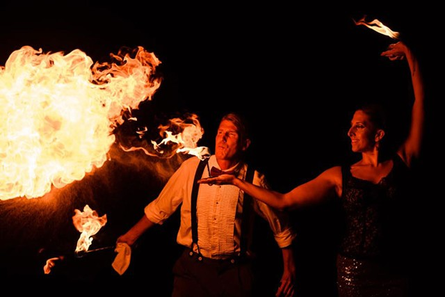 Cirque de Fuego - COURTESY OF DANA TARR