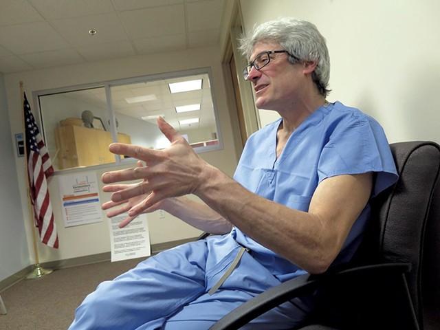 Dr. Steven Shapiro, Vermont's chief medical examiner - FILE/MATTHEW THORSEN